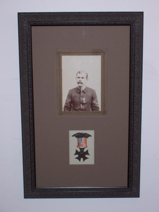 WWI Medal and Photo