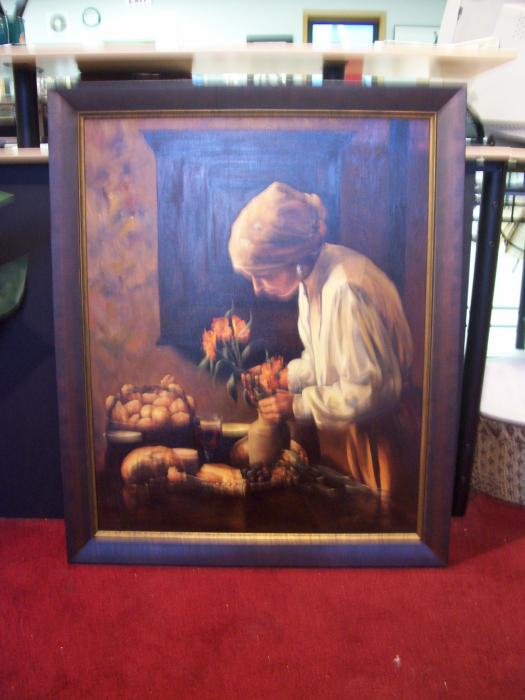 Oil Painting - The Frugal Frame Shop - The Frugal Frame Shop Samples ...