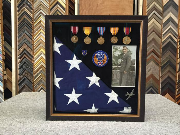 WWII Memorial Shadowbox - 2